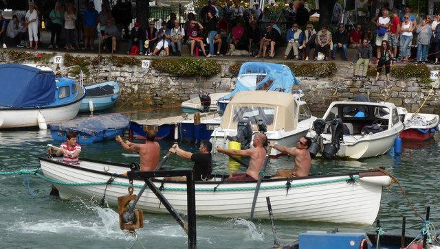Dartmouth Regatta - tug of war