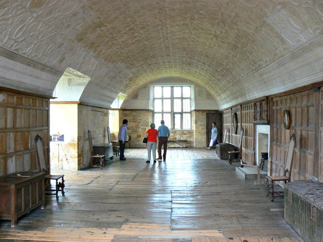 The Long Gallery, Chastleton House, Chastleton, Oxfordshire