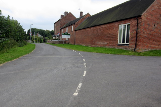 The road into Farm Town