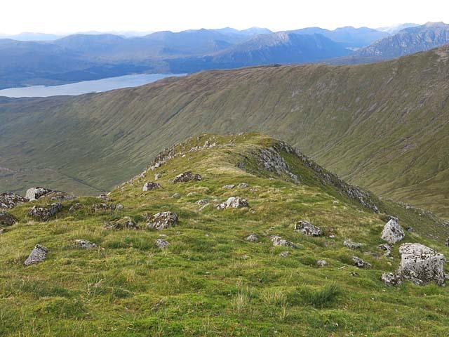 North ridge of Sron an Isean