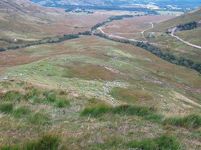 Moorland near old Lead Mines, Dalmally