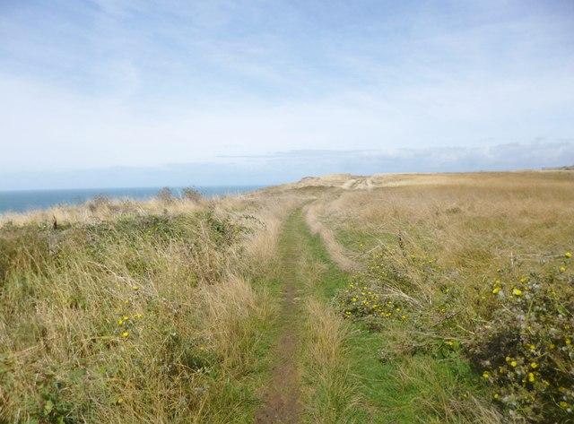 Weston, long-distance footpath