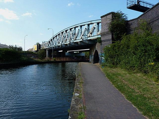 Bordesley railway bridge