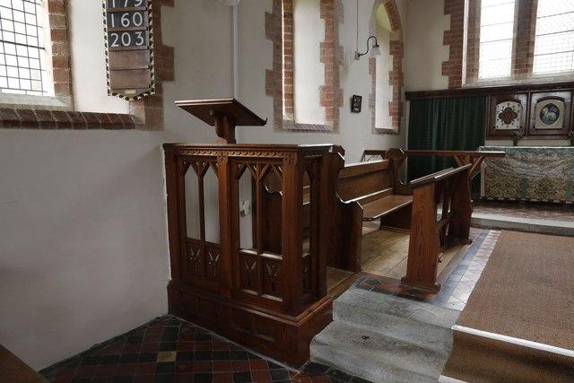 Lectern & Choir Stalls