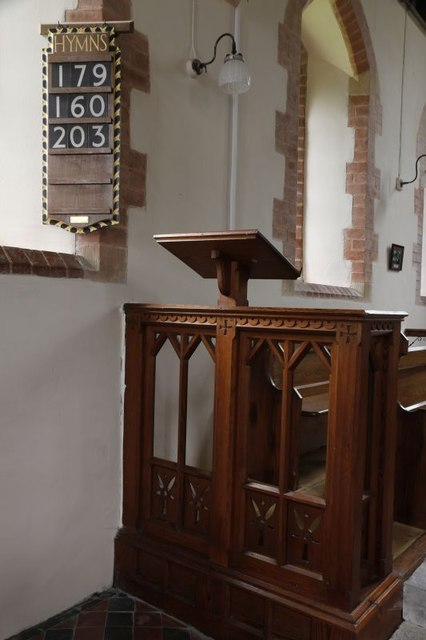 Lectern or Pulpit
