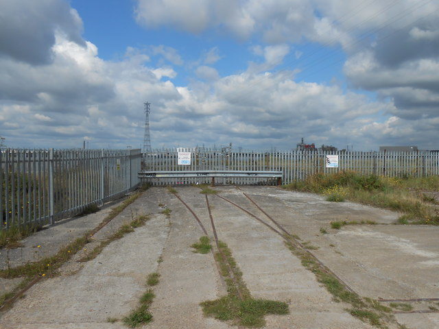 Gates to Disused Jetty