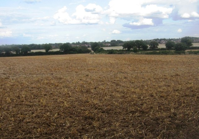 Great Wildrcoft Field (20.5 acres) - post harvest