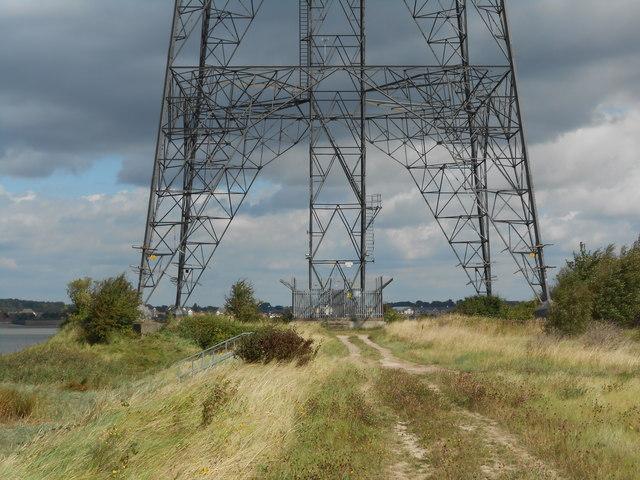 Approaching Pylon ZR11, Riverside Path
