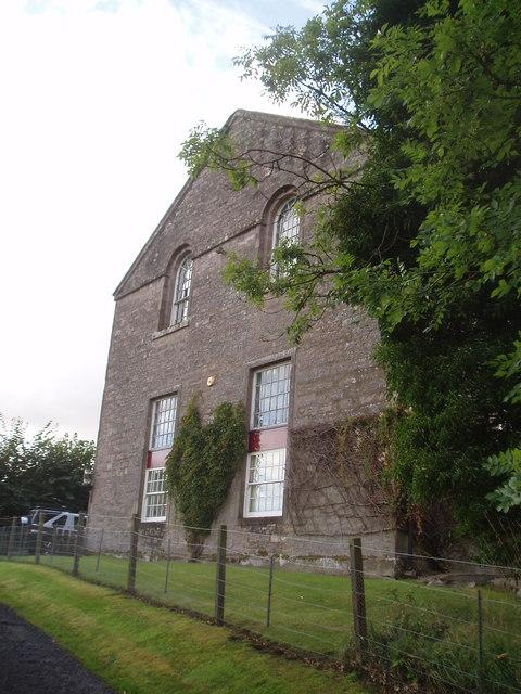 Former church at Cargill