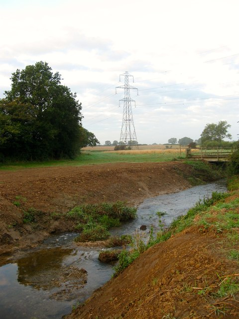 Site of Twineham Weir, River Adur