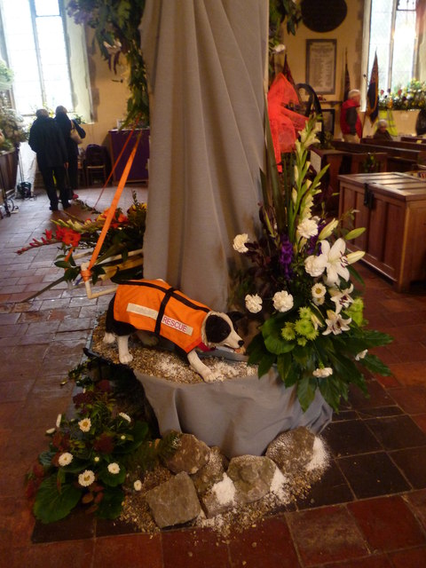 Flower festival at Appledore