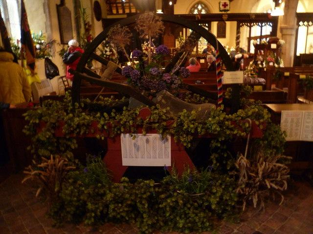 Flower festival at Appledore
