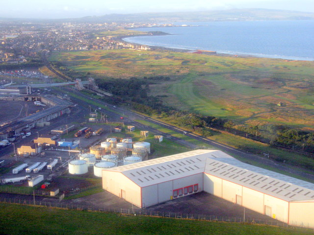 Prestwick Airport and station