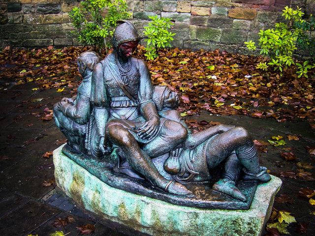 Merry Men Statue