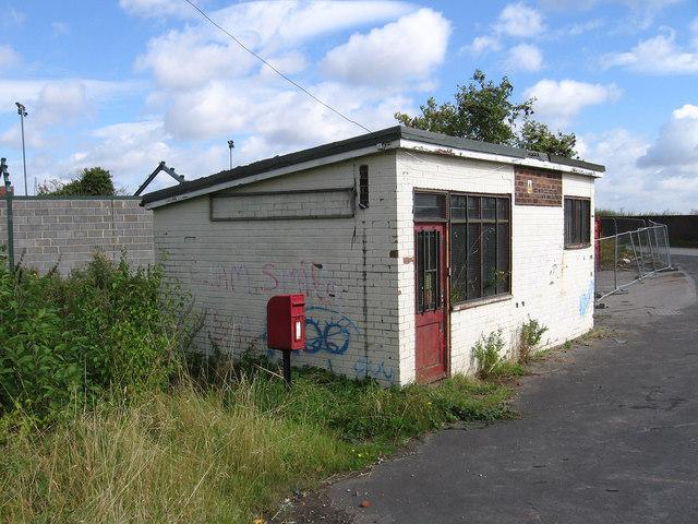 Keadby - former lock-up shop