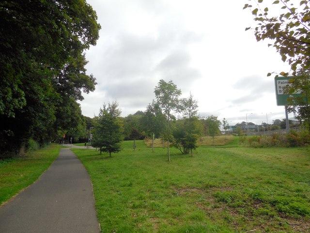 Green near A27 at Falmer