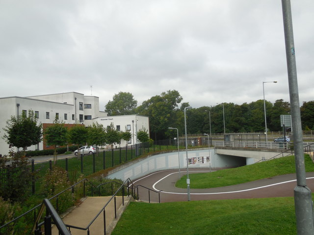 A27 underpass at Falmer