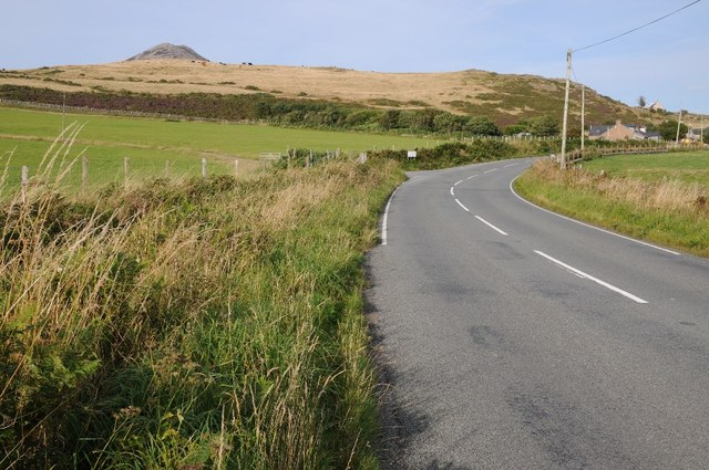 B4417 approaching Llithfaen