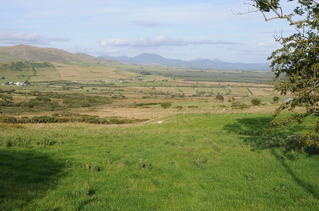View east from near Cae-garw
