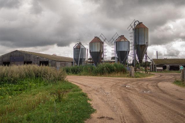 Silos on Home Farm