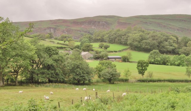 Clyn Farm near Elan