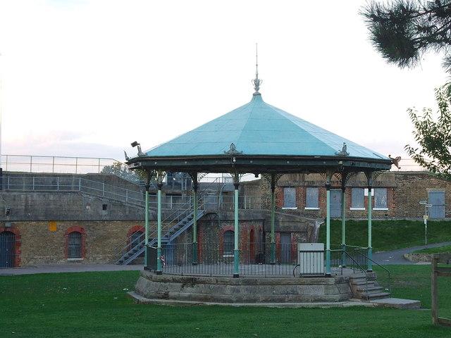 Bandstand, Fort Gardens, Gravesend