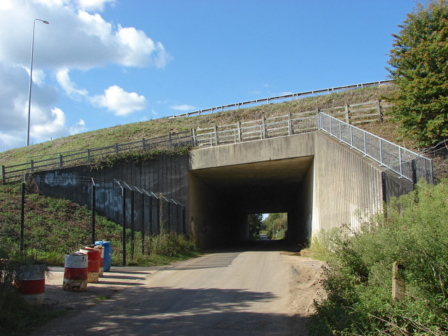 M25 bridge over Bookham Road