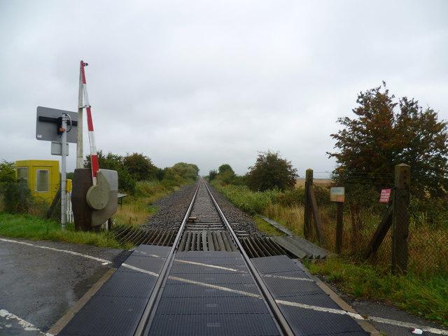 The Marshlink line near Fairfield