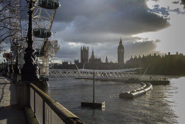 The Thames and The Houses of Parliament