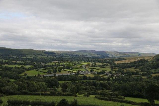 Llandegley Village