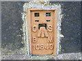 SD9023 : Ordnance Survey Flush Bracket 10840 by Peter Wood