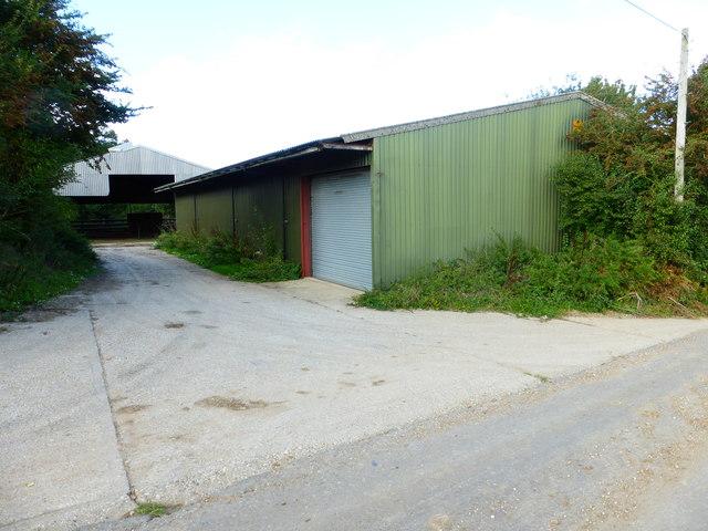 New barns at Little Dean Farm