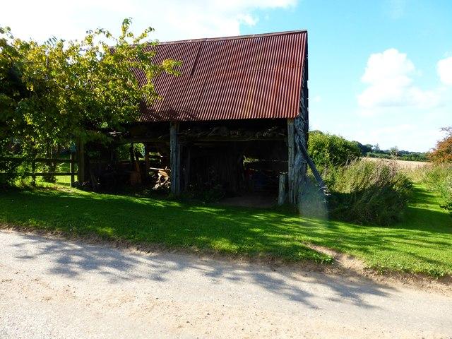 Old barn at Little Dean Farm