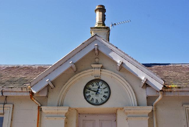 Porter's Lodge commemorative clock