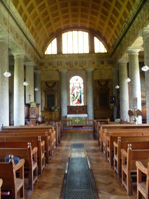 Interior of St Lawrence Church, Mereworth