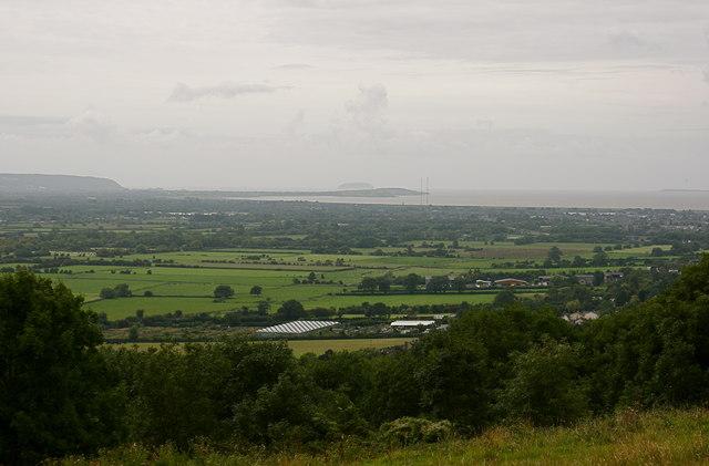 View over Tickenham Moor