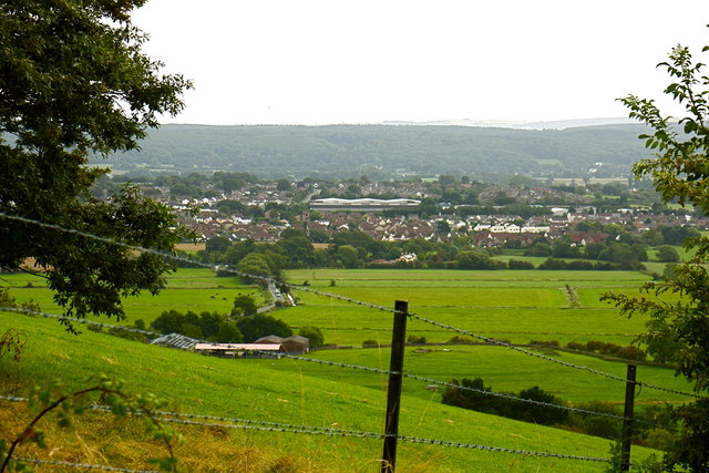 View over High Wood