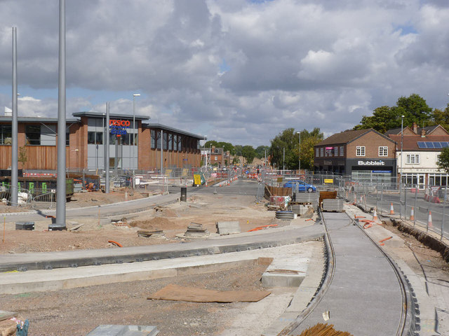 Middle Street at Beeston Transport Interchange