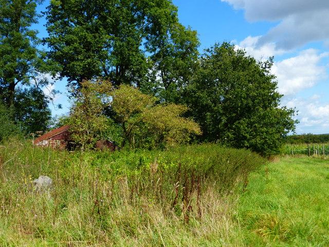 Bayman's Barn on the corner of Closedown Wood
