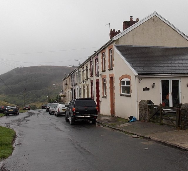 Northernmost houses in Blaengarw