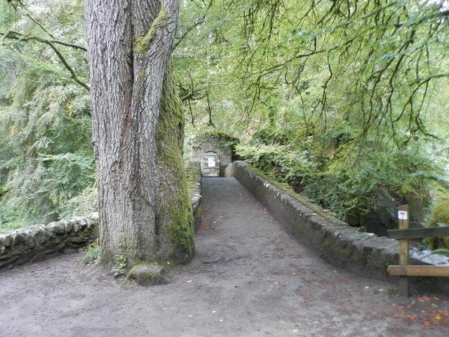 Bridge over The Braan near The Hermitage