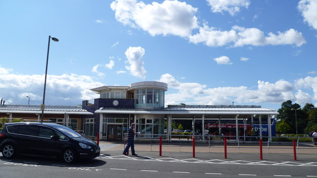 Thornhill Park & Ride to the east of Oxford
