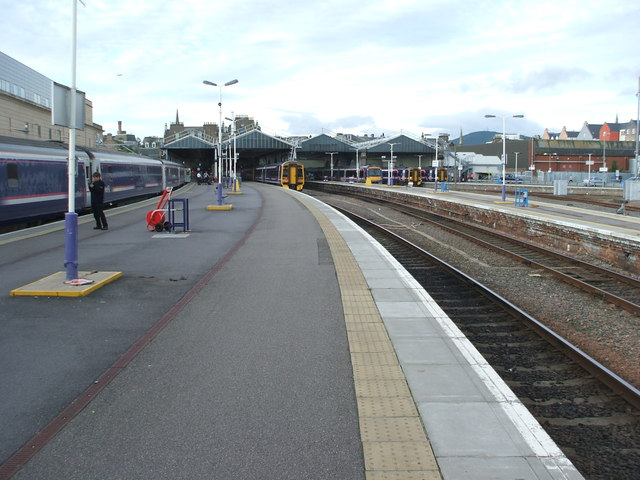 Inverness railway station, Highland