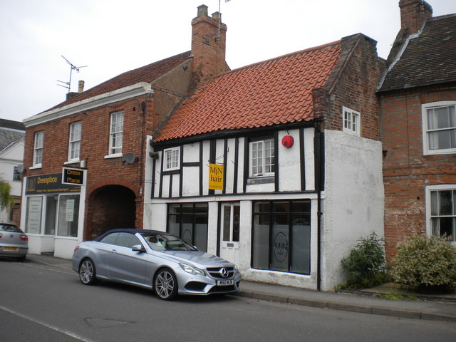 Hairdresser's shop on Westgate, Southwell
