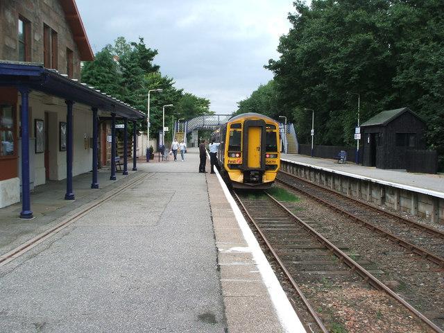 Ardgay railway station, Highland