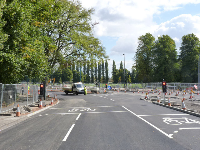 University Boulevard/Queens Road junction