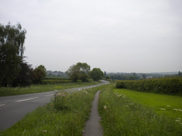 A612 Nottingham Road south of Southwell