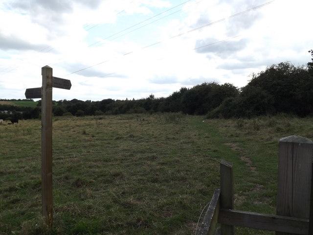 Footpath to Belstead Lower Meadow