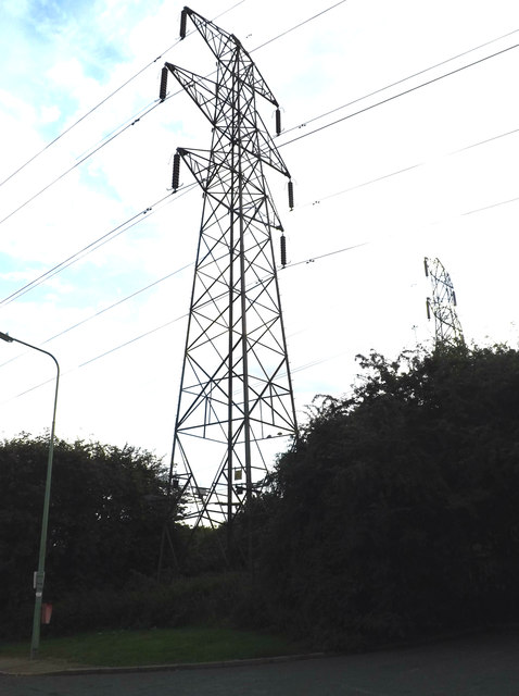 Electricity Pylons  off Cottingham Road