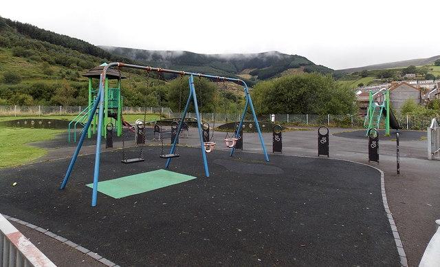 King Edward Street playground, Blaengarw